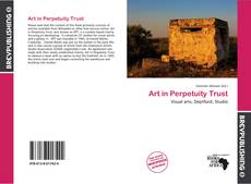 Bookcover of Art in Perpetuity Trust