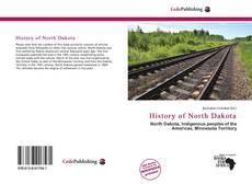 Обложка History of North Dakota