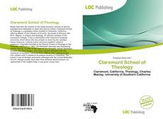 Couverture de Claremont School of Theology
