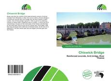 Bookcover of Chiswick Bridge