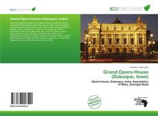 Portada del libro de Grand Opera House (Dubuque, Iowa)