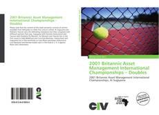 2001 Britannic Asset Management International Championships – Doubles kitap kapağı