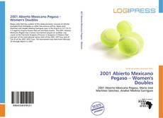 Portada del libro de 2001 Abierto Mexicano Pegaso – Women's Doubles