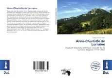 Couverture de Anne-Charlotte de Lorraine
