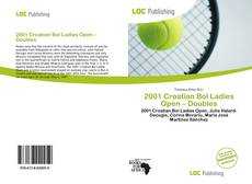 Couverture de 2001 Croatian Bol Ladies Open – Doubles
