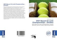 Bookcover of 2001 Bausch & Lomb Championships – Doubles