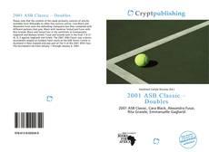 Couverture de 2001 ASB Classic – Doubles