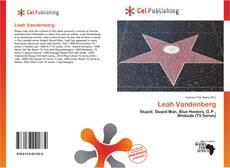 Portada del libro de Leah Vandenberg