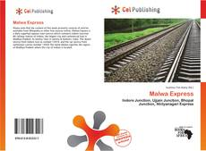 Bookcover of Malwa Express