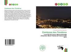 Bookcover of Comtesse des Ténèbres