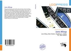Bookcover of Jane Allsop