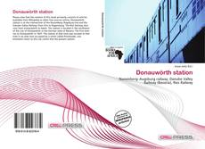 Capa do livro de Donauwörth station
