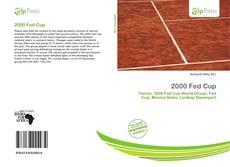 Copertina di 2000 Fed Cup