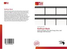 Bookcover of Kathryn Beck