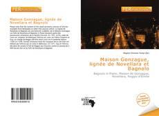 Bookcover of Maison Gonzague, lignée de Novellara et Bagnolo