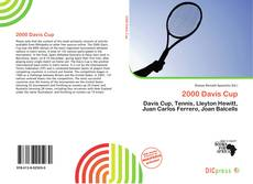 Bookcover of 2000 Davis Cup