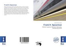 Couverture de Frank H. Spearman
