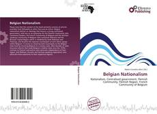 Capa do livro de Belgian Nationalism