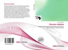 Bookcover of Korean studies