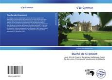 Обложка Duché de Gramont