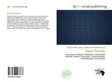 Bookcover of Kaya Tarakçı