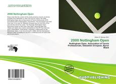 Bookcover of 2000 Nottingham Open
