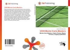 Bookcover of 2000 Monte Carlo Masters