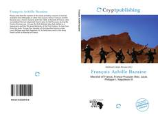 Buchcover von François Achille Bazaine