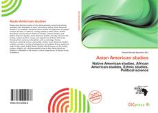 Couverture de Asian American studies
