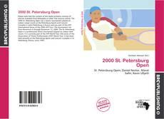 Portada del libro de 2000 St. Petersburg Open