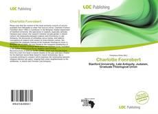 Couverture de Charlotte Fonrobert