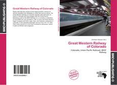 Обложка Great Western Railway of Colorado