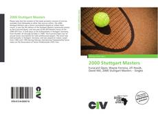 Bookcover of 2000 Stuttgart Masters
