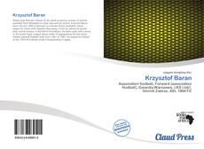 Krzysztof Baran kitap kapağı