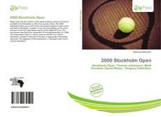 2000 Stockholm Open的封面