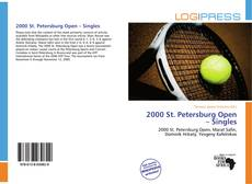 Bookcover of 2000 St. Petersburg Open – Singles