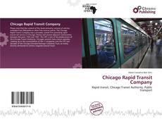 Capa do livro de Chicago Rapid Transit Company