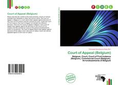 Copertina di Court of Appeal (Belgium)