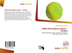 Bookcover of 2000 Nottingham Open – Singles