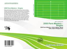 Bookcover of 2000 Paris Masters – Singles