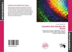 Capa do livro de Leandro dos Santos de Jesus