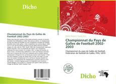 Bookcover of Championnat du Pays de Galles de Football 2002-2003