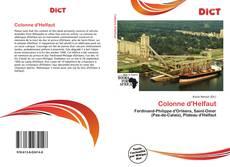 Bookcover of Colonne d'Helfaut