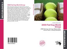 Copertina di 2000 Fed Cup World Group