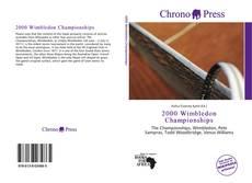 Обложка 2000 Wimbledon Championships