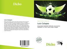 Portada del libro de Luis Calapes