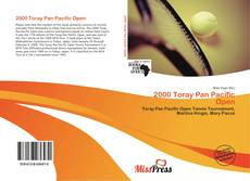 Borítókép a  2000 Toray Pan Pacific Open - hoz