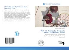 Capa do livro de 1969–70 Kentucky Wildcats Men's Basketball Team