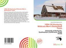 Capa do livro de 1994–95 Kentucky Wildcats Men's Basketball Team