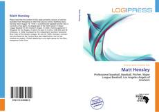 Bookcover of Matt Hensley
